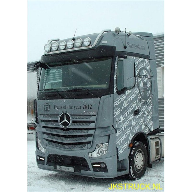 rampe barre de toit mercedes benz actros mp4 bigspace jks truck. Black Bedroom Furniture Sets. Home Design Ideas