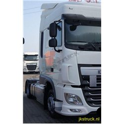 Dachspoiler + fenders DAF XF Euro 6 Space Cab