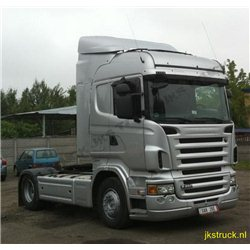 Roof spoiler+ fenders Scania R Highline